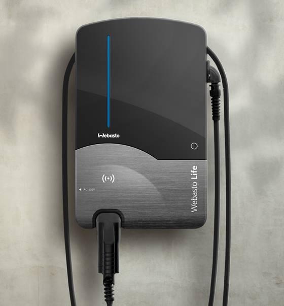 webasto pure tot 22 kw laadpaal elektrische auto. Black Bedroom Furniture Sets. Home Design Ideas
